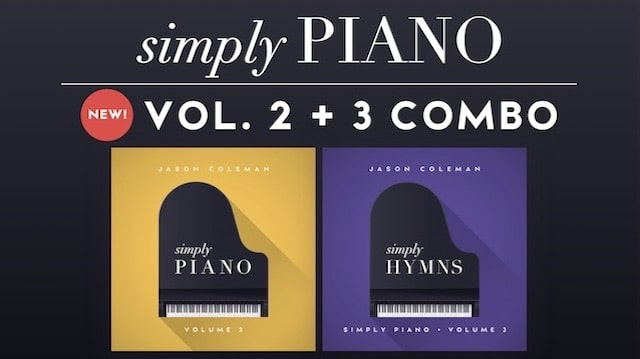 Simply Piano Vol 2 + 3 Combo